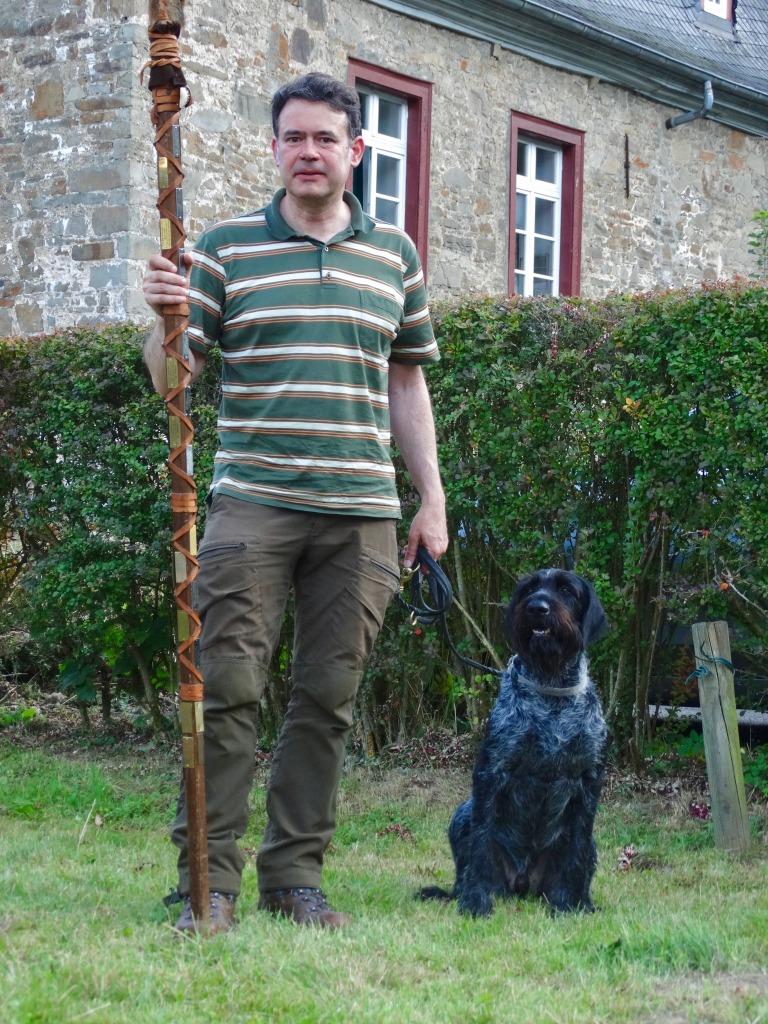 Suchensieger Christoph Rimke mit Rollo II vom Liether Moor